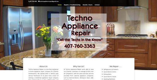 Go to Techno Appliance Repair Website
